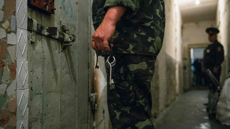Prison, Moldova, June 2014. Photo: UNAIDS Photographer D.Gutu