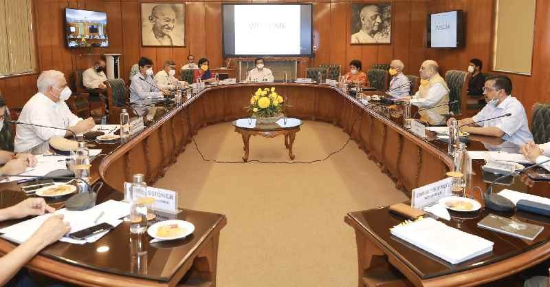 Meeting to Discuss Covid Containment Strategy in Delhi