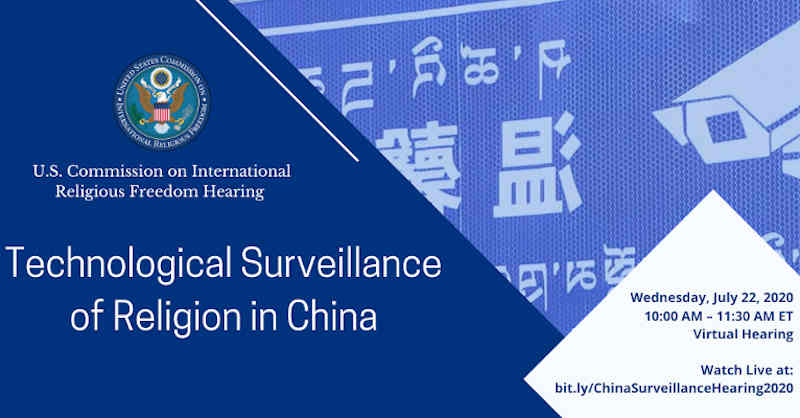 Tech Surveillance of Religion in China. Photo: USCIRF