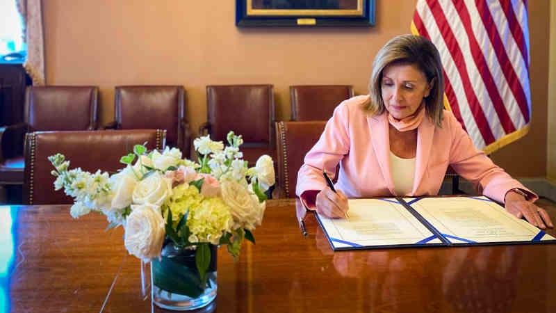Photo: House Speaker Nancy Pelosi