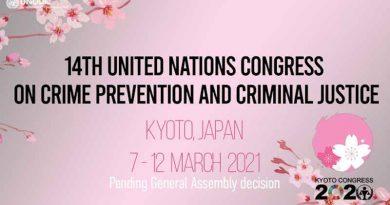 UN Congress on Crime Prevention and Criminal Justice