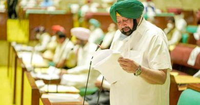 Punjab Chief Minister (CM) Amarinder Singh introduces new Bills in the Vidhan Sabha on October 20, 2020.