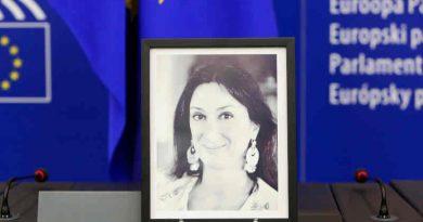 Maltese investigative journalist Daphne Caruana Galizia was murdered in a car bomb explosion in October 2017. Photo: European Parliament