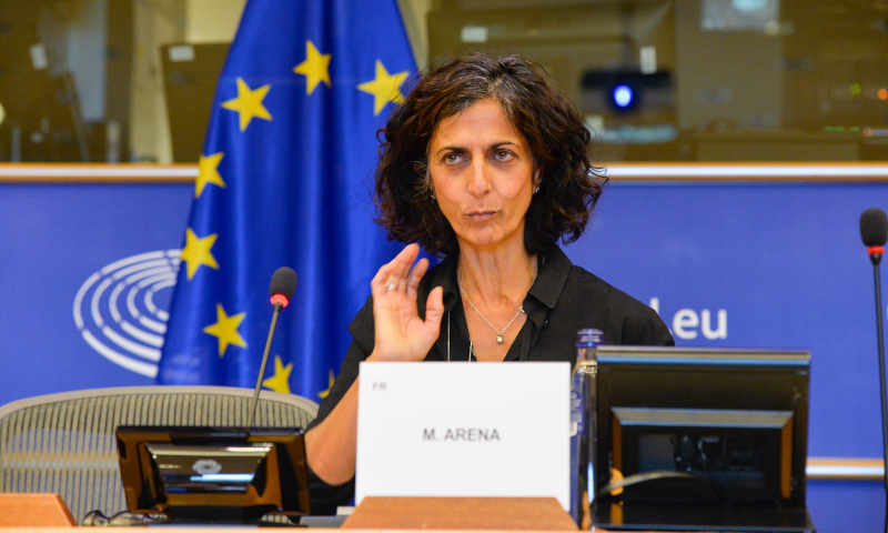 Chair of the European Parliament's Subcommittee on Human Rights Maria Arena. Photo: European Parliament