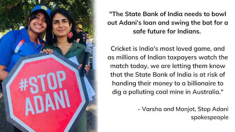 Photo: Stop Adani Campaign