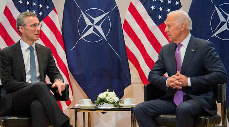 NATO Secretary General Jens Stoltenberg with the next U.S. President Joe Biden. Photo: NATO