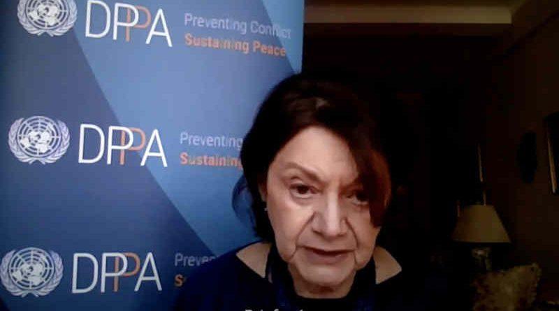UN Under-Secretary-General Rosemary DiCarlo. Photo: UN