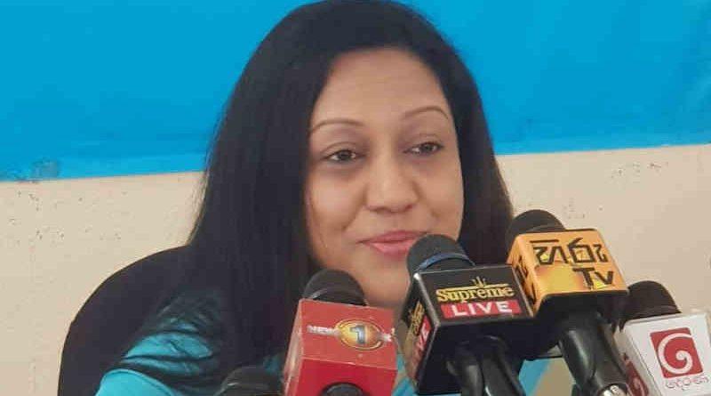 Transparency International Sri Lanka (TISL) Executive Director Nadishani Perera. Photo: TISL