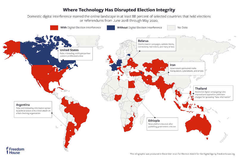 Election Watch for the Digital Age. Photo: Freedom House