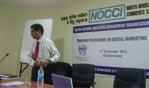 As a technology expert for the United Nations (UNIDO), Rakesh Raman held latest digital marketing training and technology awareness programs for business executives in different cities of India.
