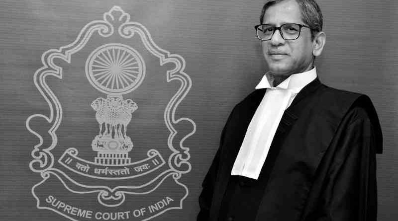 Justice Nuthalapati Venkata Ramana. Photo: PIB