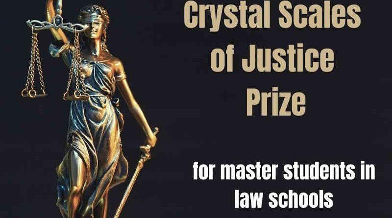 Junior Crystal Scales of Justice Prize. Photo: CEPEJ