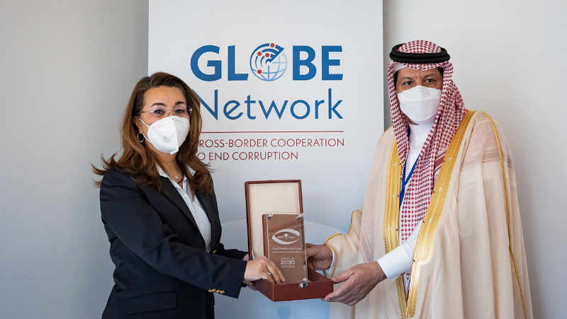The launch event of Global Operational Network of Anti-Corruption Law Enforcement Authorities (GlobE Network) in New York on 3 June 2021. Photo: UNODC