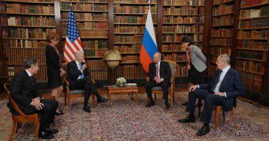 Biden-Putin Gossip Ends. Result: Zilch