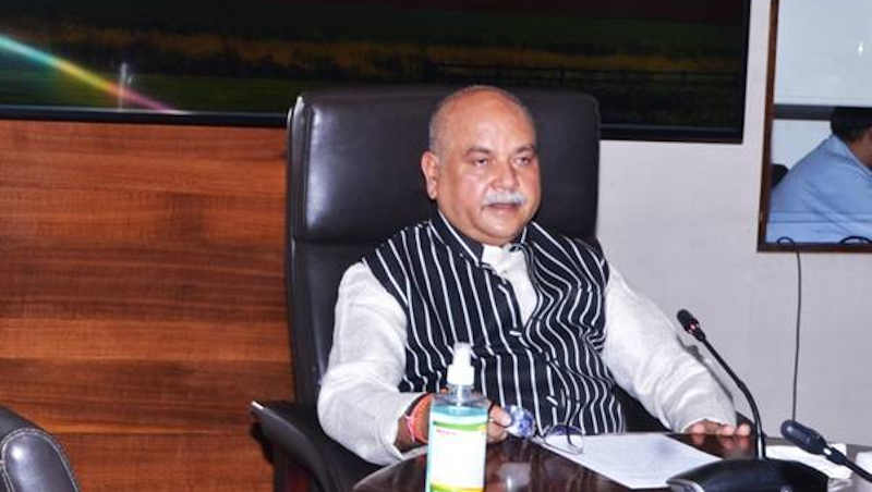 Narendra Singh Tomar, Minister for Agriculture and Farmers Welfare. Photo: Ministry of Agriculture and Farmers Welfare, Government of India