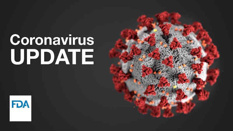 Coronavirus Update. Photo: FDA