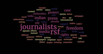 Letter to RSF on Press Freedom. By Rakesh Raman