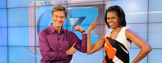 Michelle Obama on The Dr. Oz Show