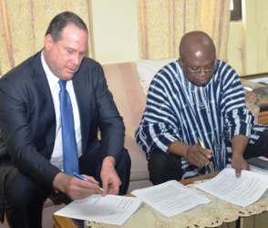 Export Hub in West Africa
