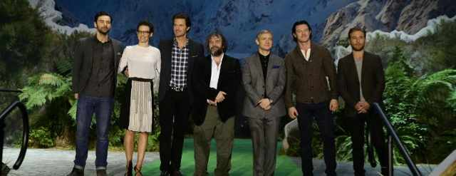 The cast of The Hobbit: The Desolation of Smaug