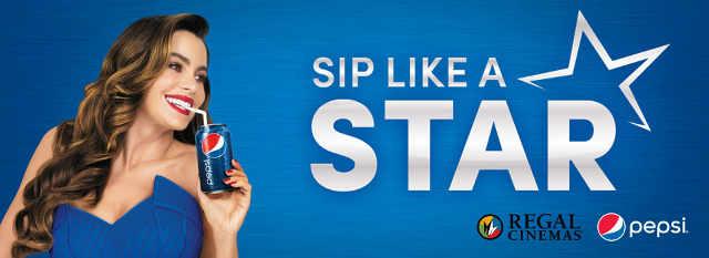 Pepsi Sip Like a Star