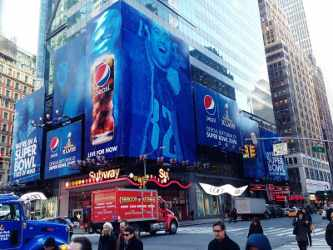 Pepsi for Super Bowl