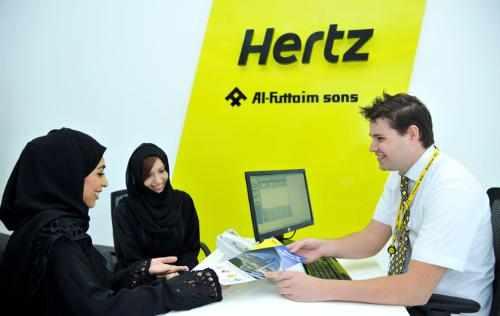 Hertz Car Rental in Dubai