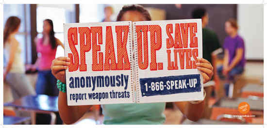 Speak Up Campaign to Prevent Violence