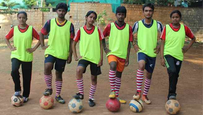 Bangalore Students Selected for FIFA Football Event in Brazil
