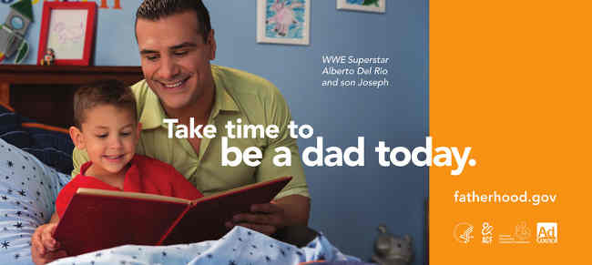 Take Time to be a Dad Today