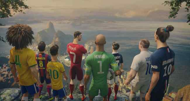 Nike Football Launches The Last Game