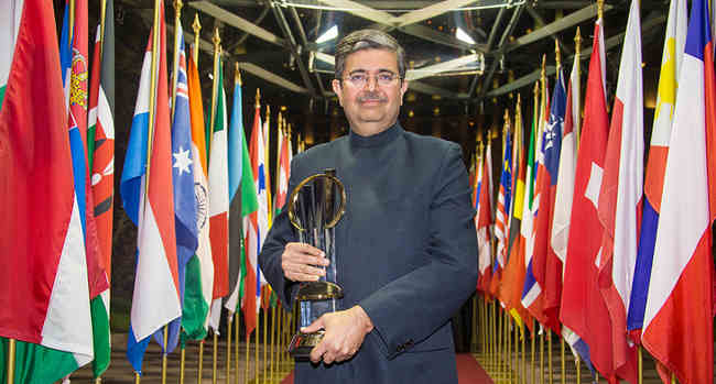 Uday Kotak from India Named EY Entrepreneur of the Year