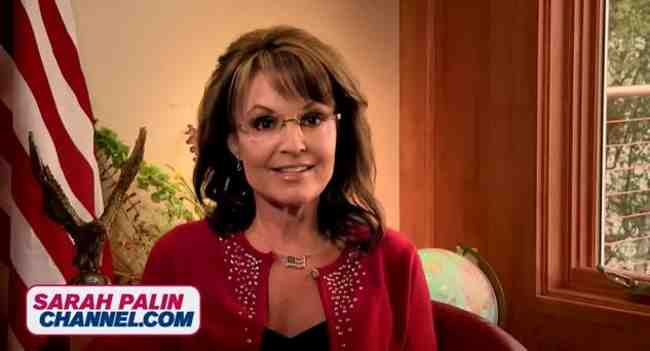 Governor Sarah Palin Launches Online Video Channel