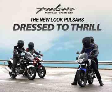 Bajaj Auto Releases New Look Pulsars TV Ad