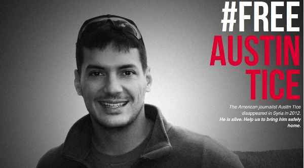 Journalists Launch Campaign: Free Austin Tice