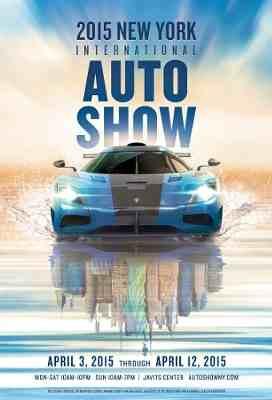 New York Auto Show Unveils 2015 Poster Artwork