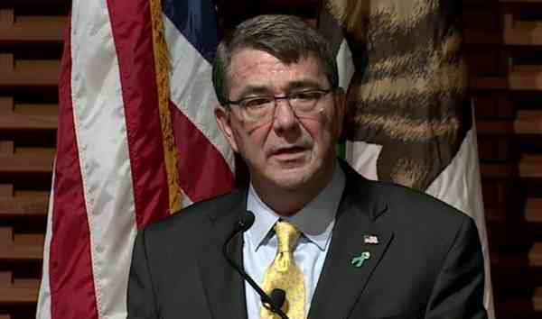 Defense Secretary Ash Carter. Photo: DoD