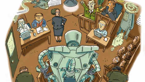 Killer Robots. Photo courtesy: Russell Christian for Human Rights Watch