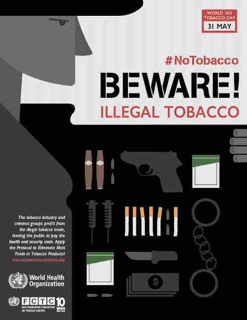 WHO Calls for Action Against Illicit Tobacco Trade