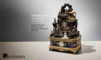 Chinese Clock Sells for 3.37 Million EUR