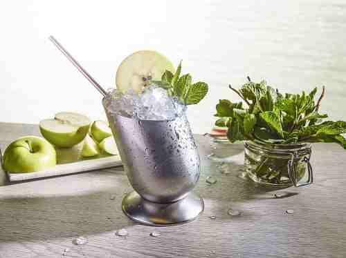 World Class cocktail - the Smokey Apple Julep