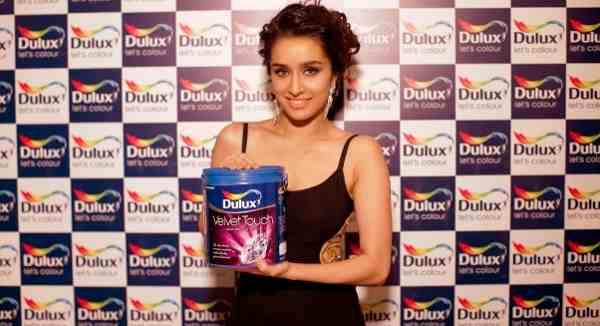 Shraddha Kapoor New Face of Dulux Paints
