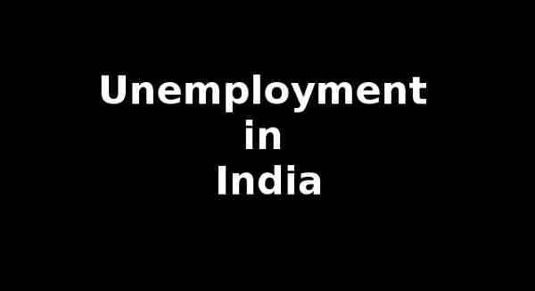 Unemployment in India