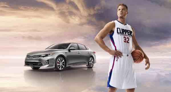 NBA All-Star Blake Griffin Stars in Kia Ad Campaign