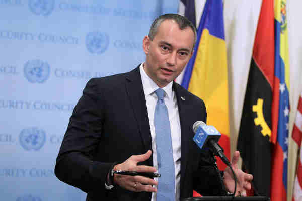 Special Coordinator for the Middle East Peace Process, Nickolay Mladenov. UN Photo/Devra Berkowitz