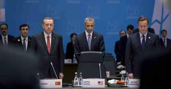 Recep Tayyip Erdoğan, Barack Obama,and David Cameron