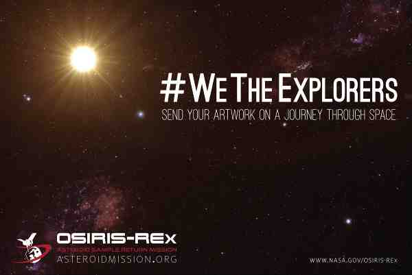 NASA Invites You to Send Your Artwork to an Asteroid