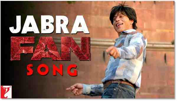 Shah Rukh Khan Fan Song