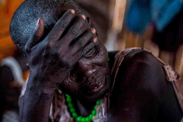 Women and children have suffered devastating attacks in South Sudan's Unity State. Photo: UNICEF /South Sudan / Sebastian Rich
