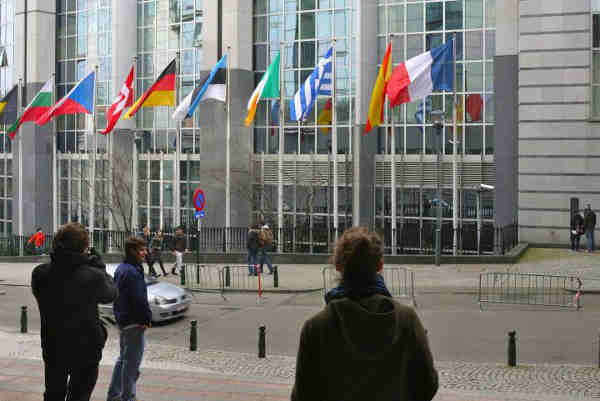 European Union headquarters in Brussels, Belgium. Photo: UN / Carmen Cuesta Roca